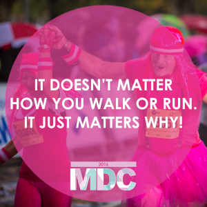 Mother's Day Classic - It doesn't matter how you walk or run it just matters why