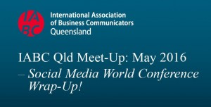 IABC Queensland social media event